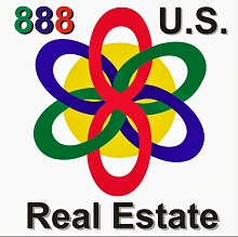 888 US Real Estate Logo 220 Square